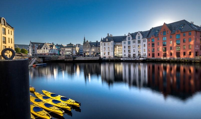 Norveç Şehrinde Gezilecek Yerler