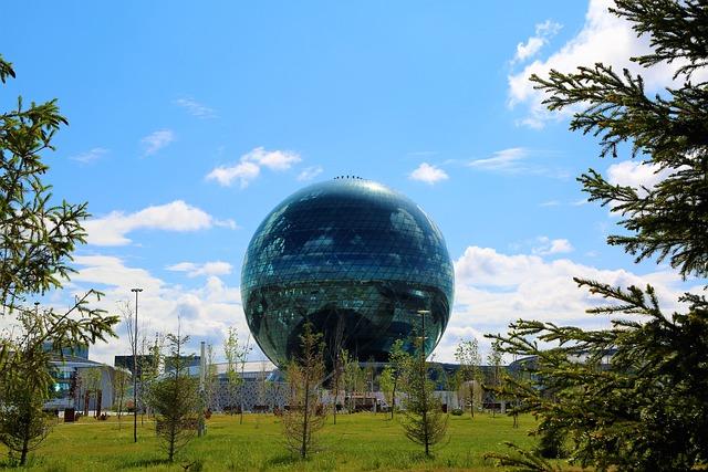 Astana Şehrinde Gezilecek Yerler