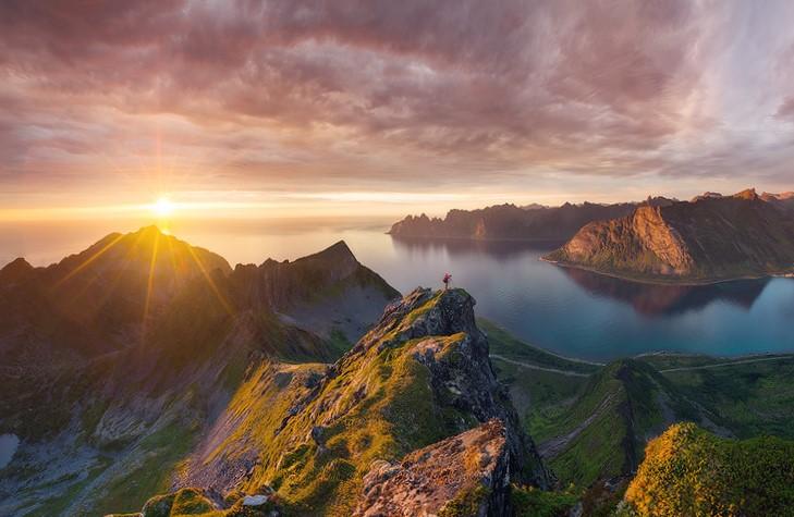 Doğanın Mucizesi Geceyarısı Güneşi